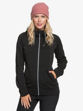 Stone - Technical Zip-UP Hoodie for Women  ERJFT04211