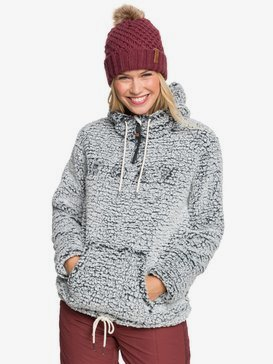 Pluma Sherpa - Technical Half-Zip Hooded Fleece for Women  ERJFT04218