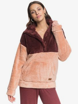 Dream Escape - Sherpa Half Snap Fleece for Women  ERJFT04311