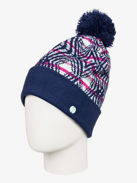 Oslo - Pom-Pom Beanie for Women  ERJHA03563