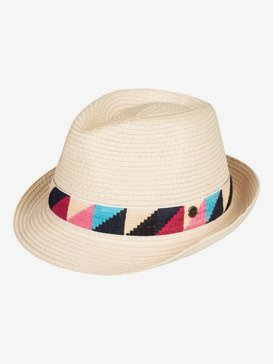 Shake Your Palm - Straw Trilby  ERJHA03692