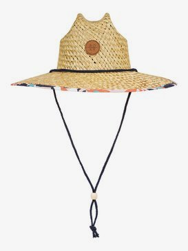 Pina To My Colada - Straw Lifeguard Hat  ERJHA03693