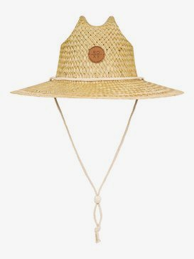 Sunshine On My Mind - Straw Lifeguard Hat  ERJHA03694