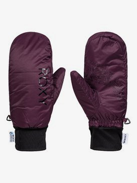 ROXY Packable HydroSmart - Packable Water-Resistant Mittens for Women  ERJHN03138