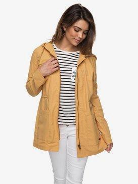 Crazy Clouds - Long Hooded Raincoat for Women  ERJJK03227