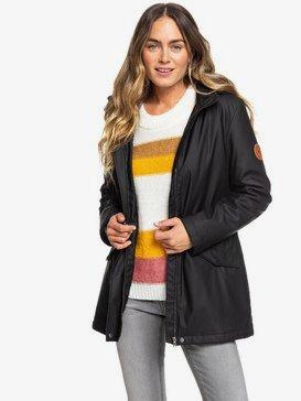 Downtown Calling - Waterproof Hooded Raincoat for Women  ERJJK03328
