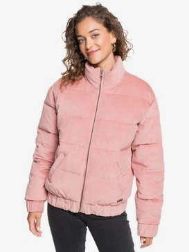 Adventure Coast - Velour Puffer Jacket for Women  ERJJK03350