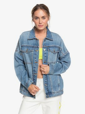 H and K Sister The Ocean Is Calling - Denim Boyfriend Jacket for Women  ERJJK03383