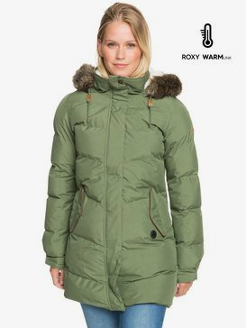 Ellie Plus - Waterproof Longline Puffer Jacket for Women  ERJJK03384