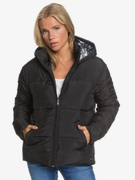 Electric Light - Hooded Puffer Jacket for Women  ERJJK03389