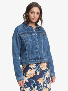 Road To Somewhere - Denim Jacket for Women  ERJJK03391