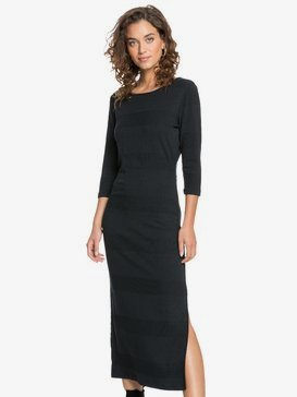 Honey Lips - Long Rib Knit Dress for Women  ERJKD03342
