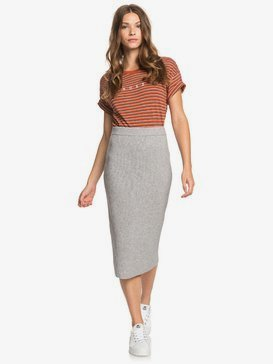 On My Cloud - Midi Bodycon Skirt for Women  ERJKK03034
