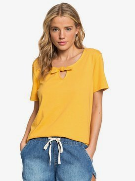 First Time - Bow Detail Short Sleeve Top for Women  ERJKT03556