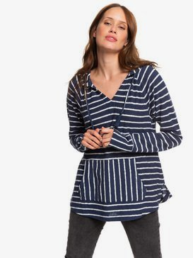 Long Night - Hooded Long Sleeve Top for Women  ERJKT03562