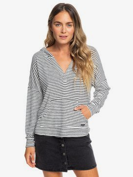 Sweet Thing - Hooded Long Sleeve Top for Women  ERJKT03567