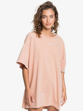 Gold Moment B - Oversized Boyfriend T-Shirt for Women  ERJKT03673