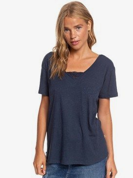 Beach Summer Party - Short Sleeve V-Neck Top  ERJKT03698