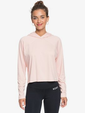 Cosmic Dancer - Hooded Long Sleeve Sport Top for Women  ERJKT03716
