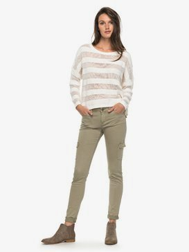 Coast Down - Skinny Fit Cargo Pants for Women  ERJNP03138