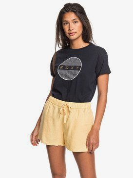 Love Square - Linen Beach Shorts  ERJNS03249
