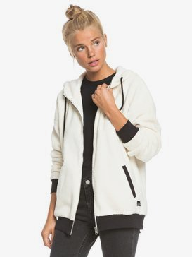 Belong Together - Zip-Up Sherpa Hoodie for Women  ERJPF03059