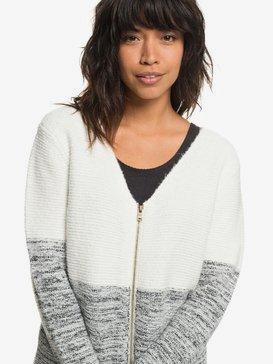 The Way Of Craft - Zip-Up Cardigan for Women  ERJSW03288