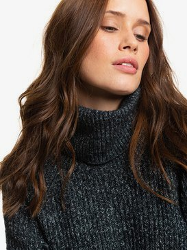 Five Reasons To Stay - Turtle Neck Jumper for Women  ERJSW03354
