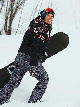 POP Snow Summit - Shell Snow Bib Pants for Women  ERJTP03132