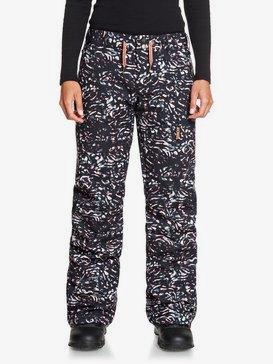 Nadia Printed - Snow Pants for Women  ERJTP03133