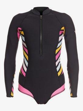 1mm POP Surf - Long Sleeve Back Zip Bikini Cut Shorty for Women  ERJW403021