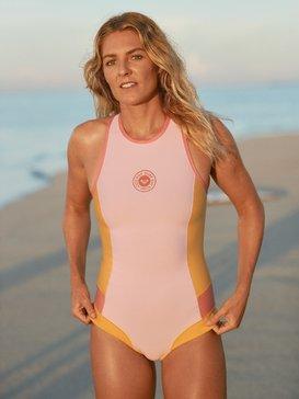 1mm POP Surf - Back Zip Bikini Cut Sleeveless Springsuit  ERJW603016