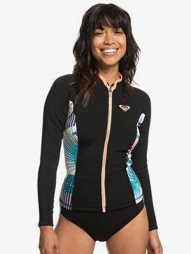 1mm POP Surf - Long Sleeve Front Zip Wetsuit Top for Women  ERJW803018