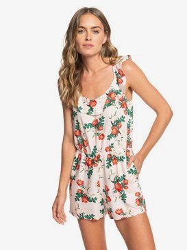 Temple Of Tropics - Strappy Playsuit for Women  ERJWD03274