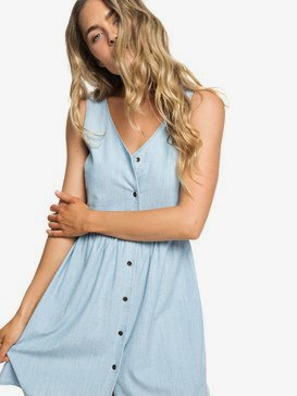 Central Park Chill - Button Front Tank Dress for Women  ERJWD03297