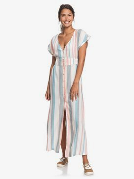 Furore Lagoon - Short Sleeve Maxi Dress for Women  ERJWD03372