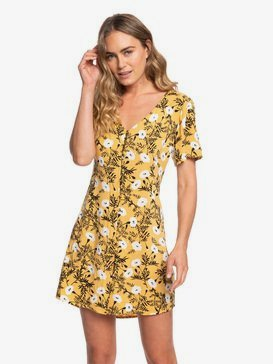 Damage Love - Short Sleeve Buttoned Dress  ERJWD03387