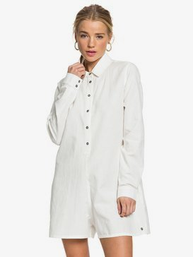 Midnight Pool - Long Sleeve Shirt Playsuit for Women  ERJWD03421