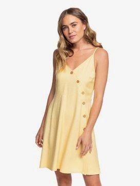 Sun May Shine - Strappy Buttoned Dress  ERJWD03422