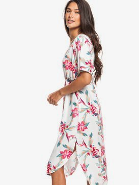 Flamingo Shades - Short Sleeve Midi Dress for Women  ERJWD03428