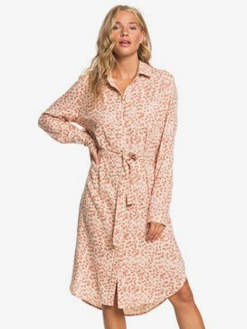 Under Rapture - Long Sleeve Shirt Dress  ERJWD03481