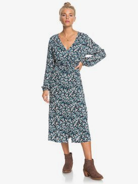 About You Now - Long Sleeve Midi Dress for Women  ERJWD03489