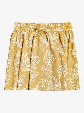 Said Too Much - Floaty Mini Skirt for Women  ERJWK03097