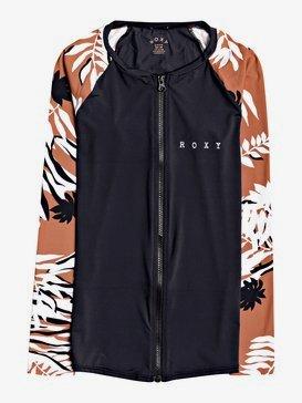 ROXY Honey - Long Sleeve Zip-Up UPF 50 Rash Vest for Women  ERJWR03444