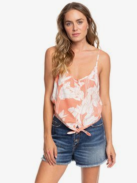 Become The One - Strappy Buttoned Crop Top for Women  ERJWT03372