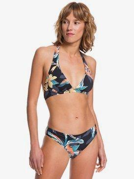 Printed Beach Classics - Halter Bikini Set  ERJX203378