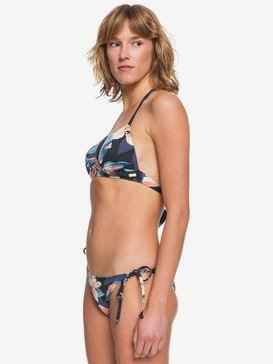 Printed Beach Classics - Moulded Triangle Bikini Set  ERJX203381