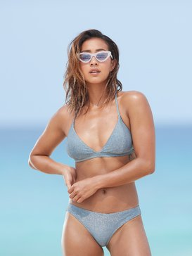 Color My Life - Fixed Triangle Bikini Top for Women  ERJX303857