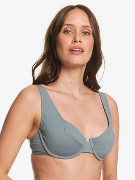 Seas The Day - D-Cup Underwired Bra Bikini Top for Women  ERJX303981