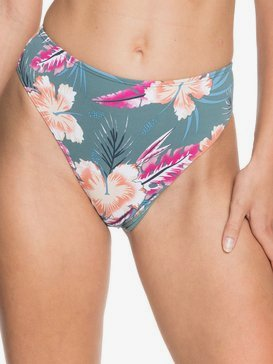 Printed Beach Classics - High Waist High Leg Bikini Bottoms for Women  ERJX403938